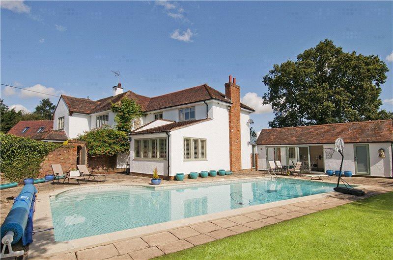 5 bedroom detached house for sale in wood end green henham bishop 39 s stortford hertfordshire for Swimming pools in bishops stortford