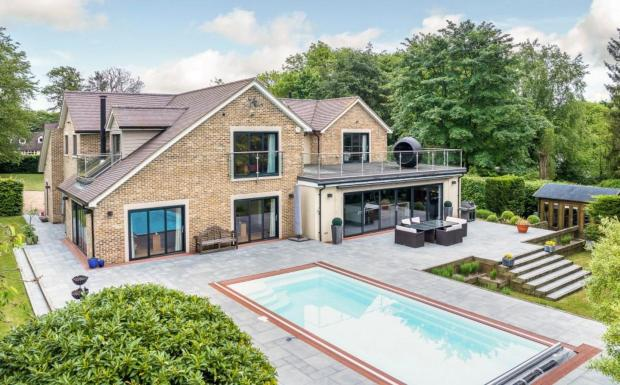 5 bedroom detached house for sale in perry green much hadham hertfordshire sg10 sg10 for Swimming pools in bishops stortford
