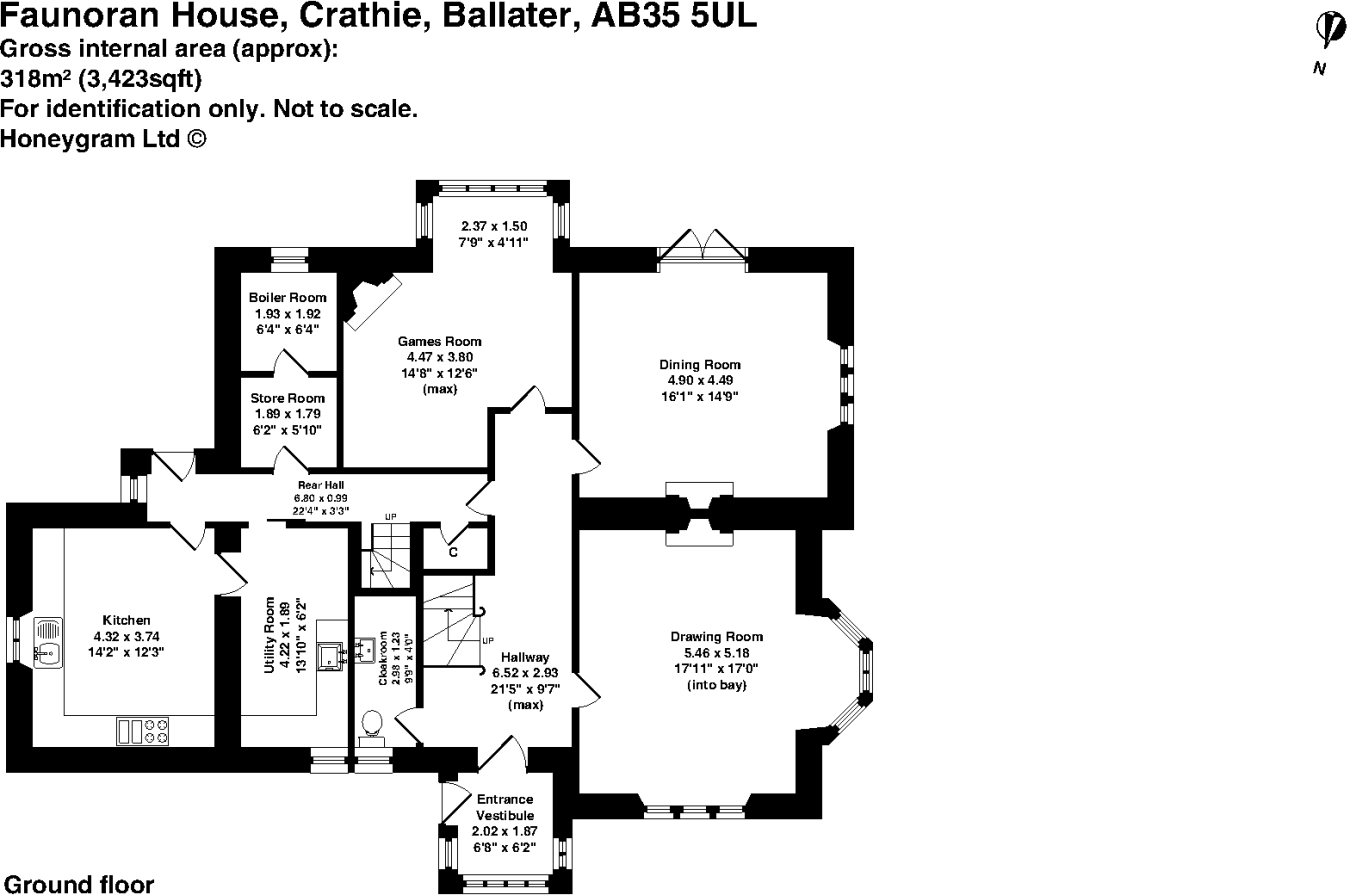Bedroom detached house for sale in crathie ballater aberdeenshire - 6 Bedroom Detached House For Sale In Faunoran House Crathie Ballater Aberdeenshire Ab35 5ul Ab35