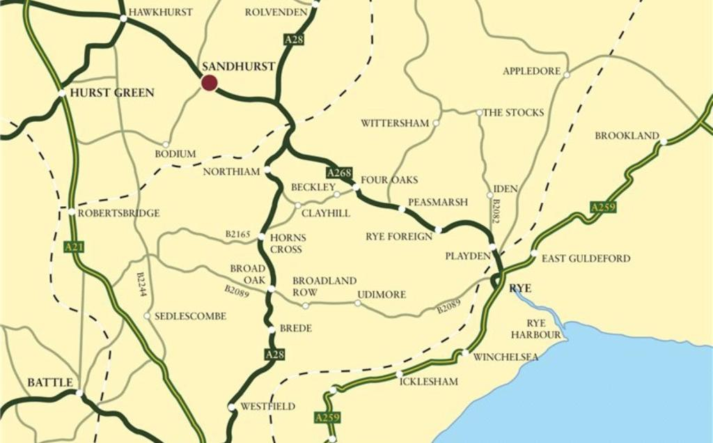 Motorway Map
