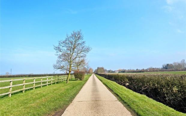 Driveway To Devel