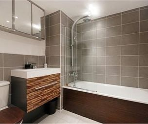 bathroom ideas pinterest tile bathrooms wall tiles and grey walls