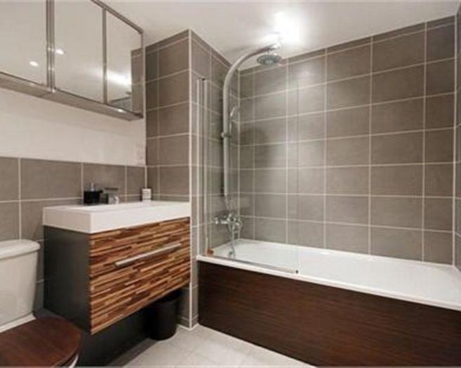 Beige grey bathroom design ideas photos inspiration for Grey and beige bathroom ideas