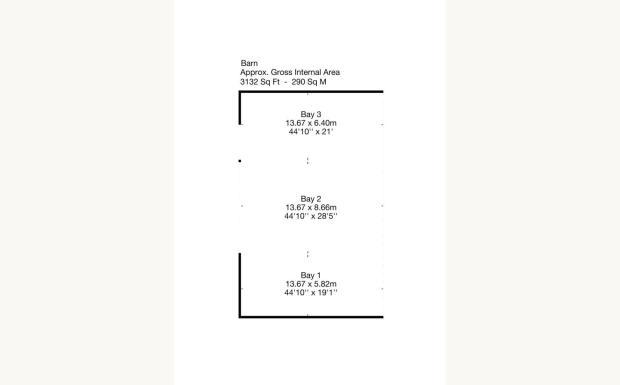 Plan Of Barn