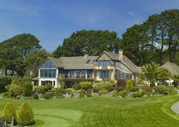 5 Bedroom Detached House For Sale In Pendragon House Helford Passage Falmouth Cornwall Tr11