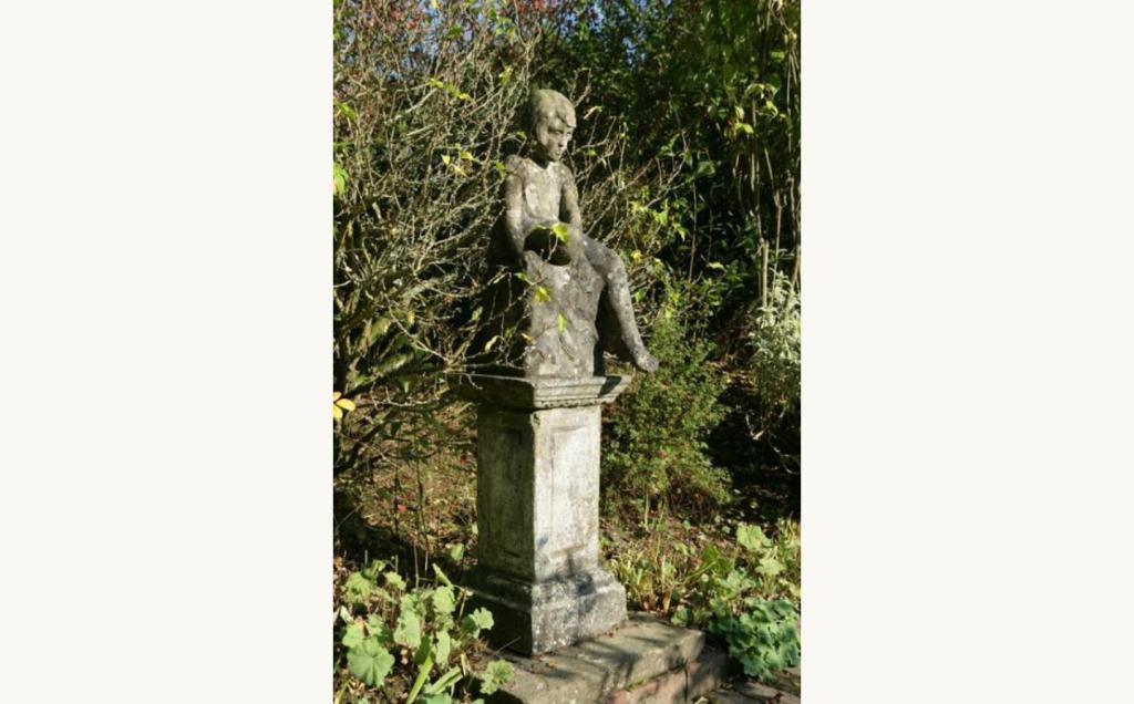 C Robin Statue