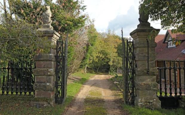 Listed Entrance Gate