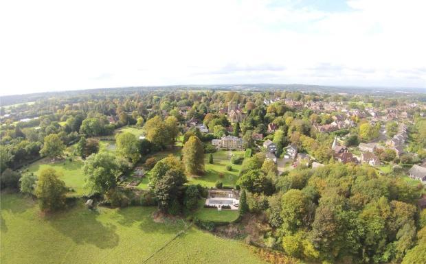 Aerial Of Village