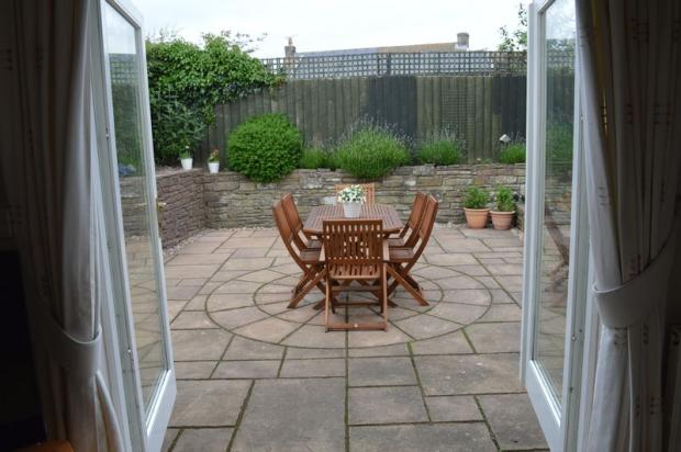 Patio area fro...