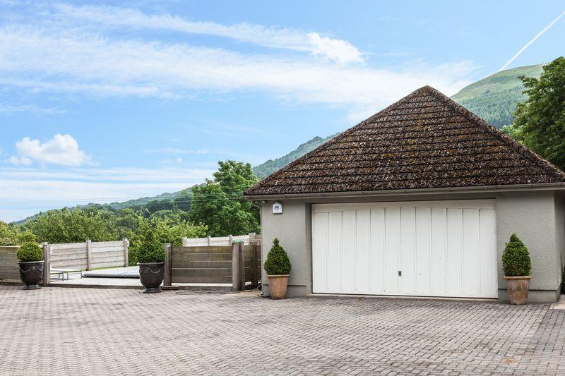 Garage and View
