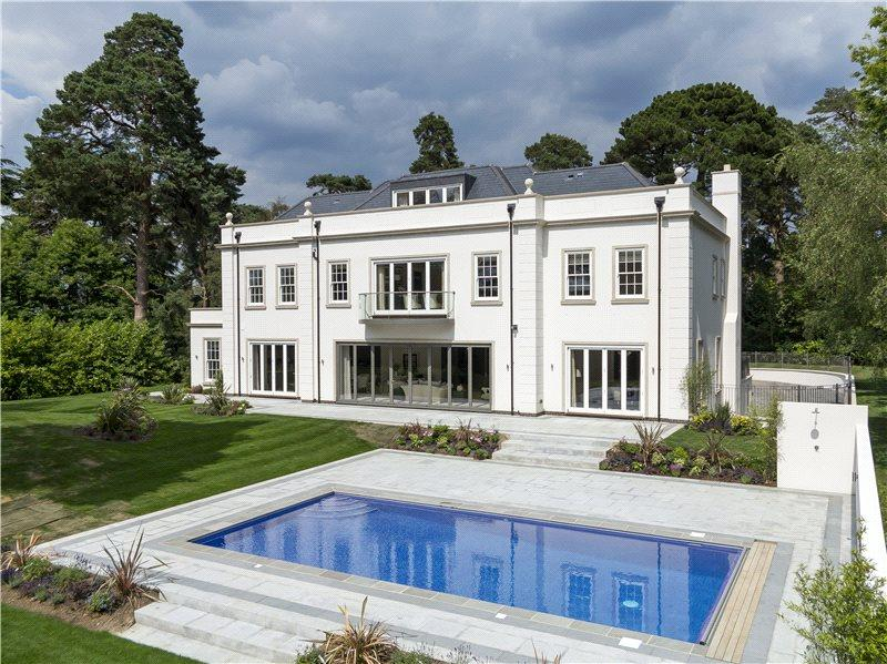 6 bedroom detached house for sale in horseshoe ridge st for Modern luxury homes for sale uk