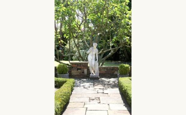 Rear Garden Statue