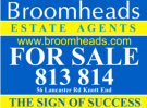 Broomheads Estate Agents, Knott End logo