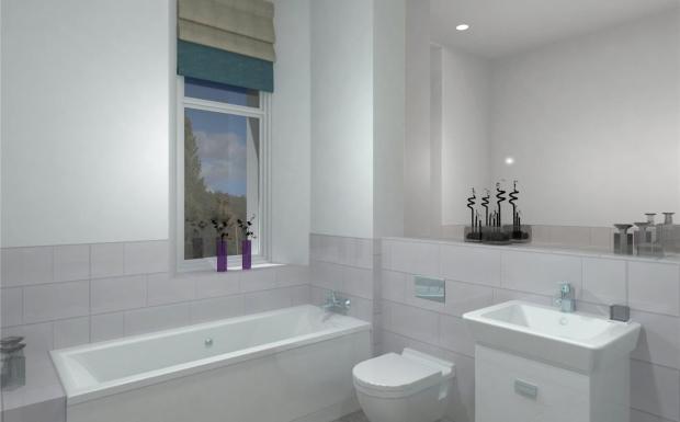 Apt 8 Bathroom