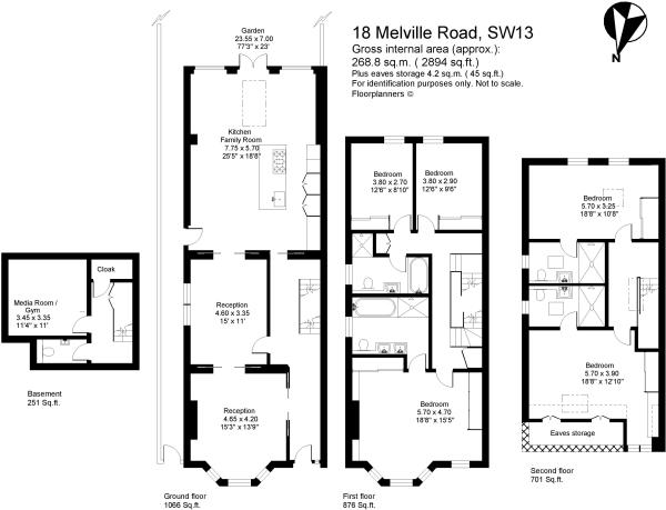5 bedroom house for sale in melville road  barnes  london  sw13 9rj  sw13