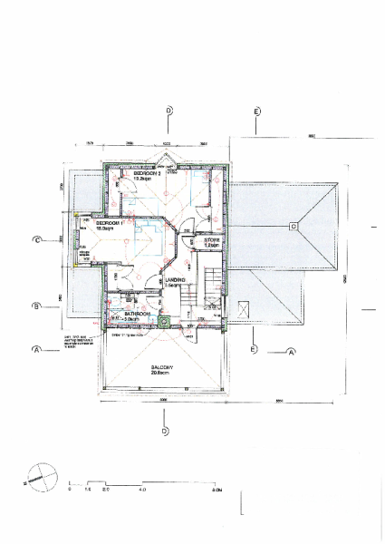 First Floor House