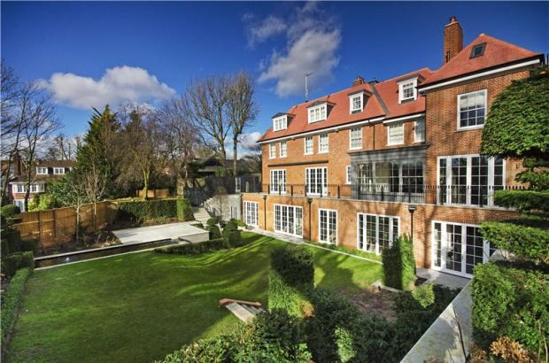 7 bedroom house for sale in bracknell gardens hampstead
