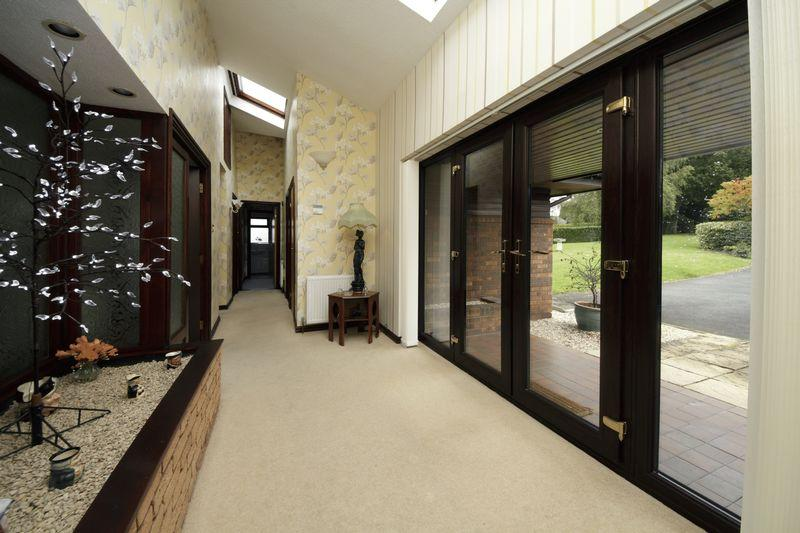 Corridor entrance design images for Entrance hall ideas