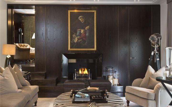 Oro Bianco,Fireplace