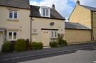Terraced house in Orchid Way, Brize Norton...