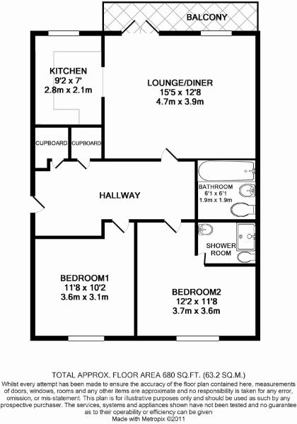 Floorplan Of 43 Spot