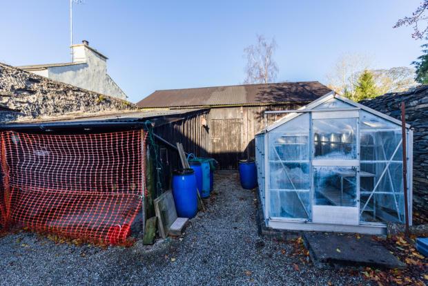 Barn and carport