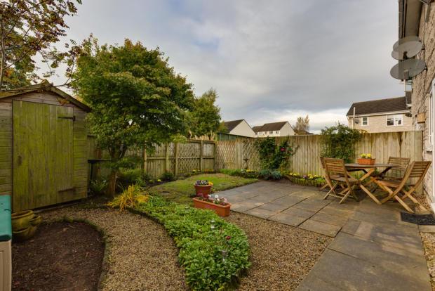 Rear garden with ...