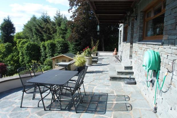 Paved Terrace