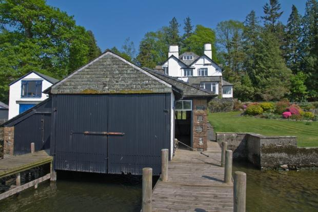 Boathouse and Jet...
