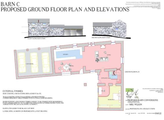 Barn C - Proposed Ground Floor Layout