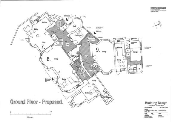 FLOOR PLANS - GROUND FLOOR (7,8 & 9)