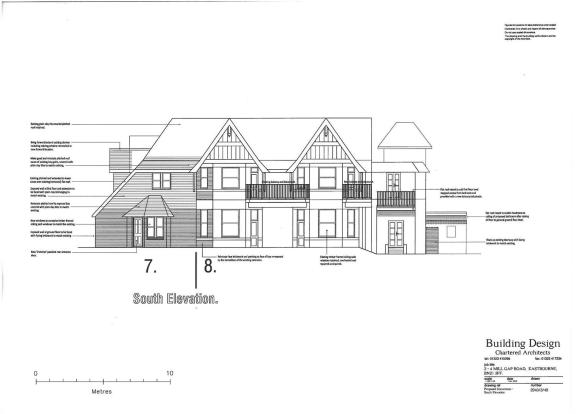 PLOT 7 - REAR ELEVATION