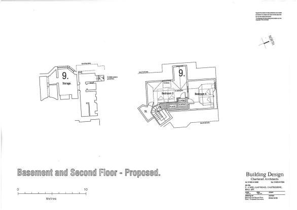 FLOOR PLANS - BASEMENT (7,8 & 9)