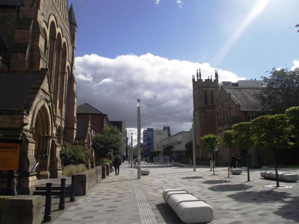 View down Northumberland Road