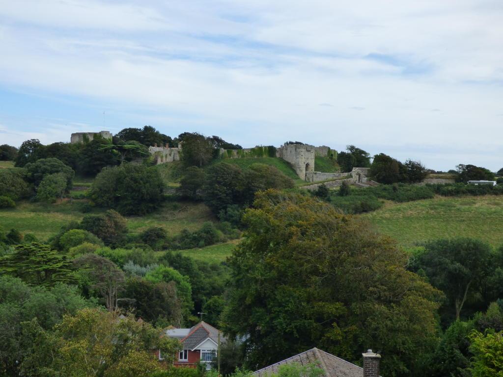 View of Carisbrooke Castle