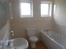 New Bathroom with electric shower over bath