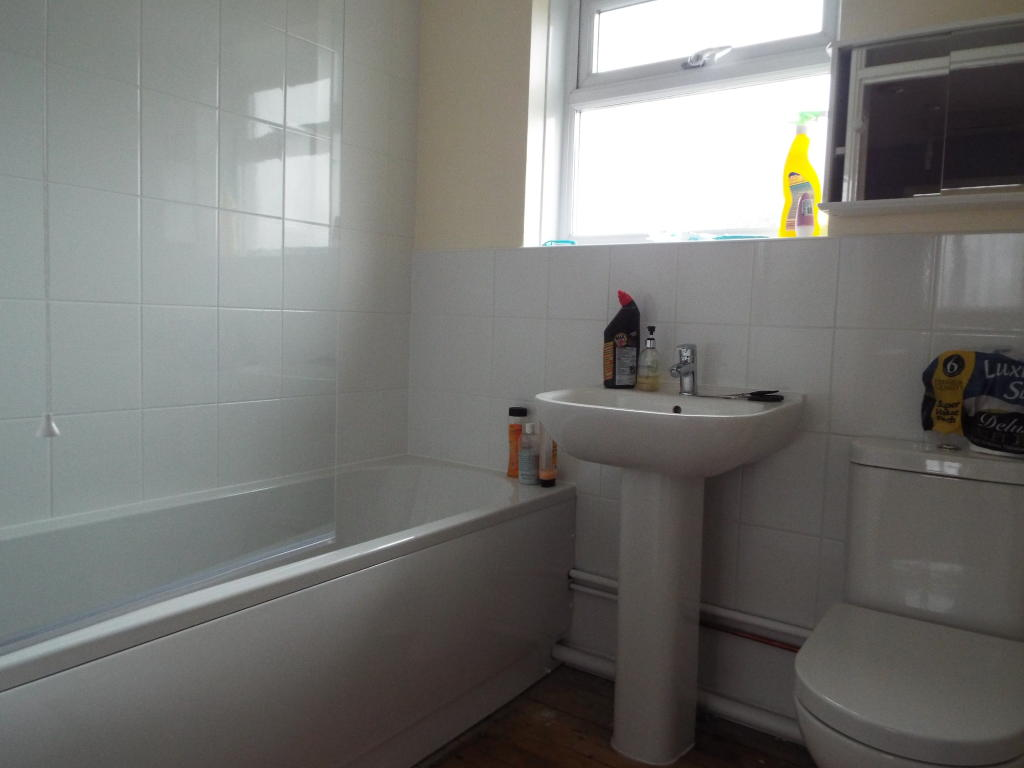 Bathroom (Flooring  to be fitted)
