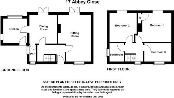 17 Abbey Close Plan.