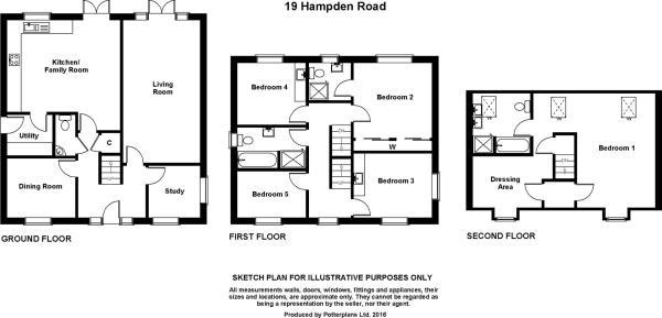 19 Hampden Road Plan