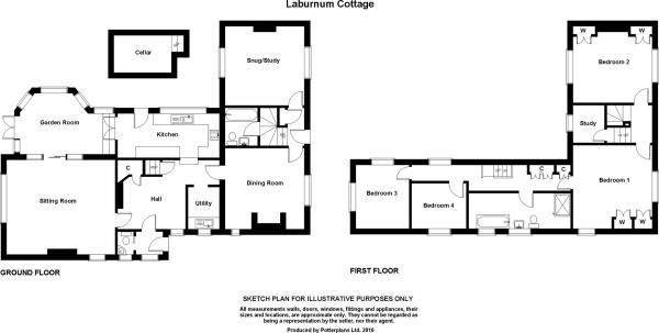 Laburnum Cottage Pla