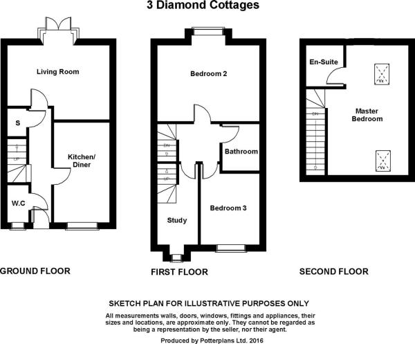 3 Diamond Cottages P