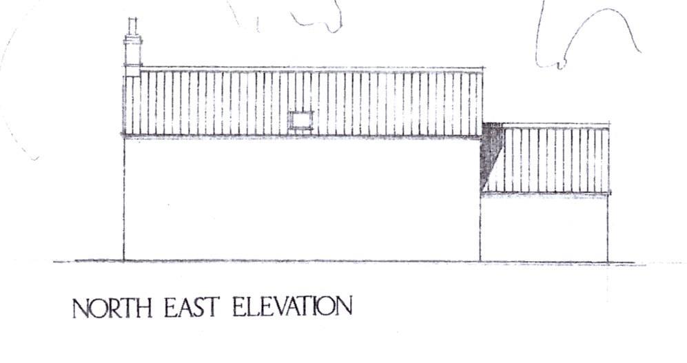 NORTH EAST ELEVATION
