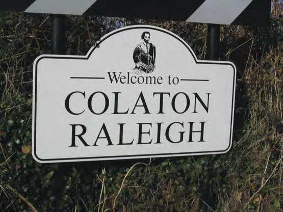 Colaton Raleigh Sign