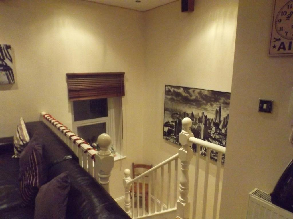 Living room / stairw