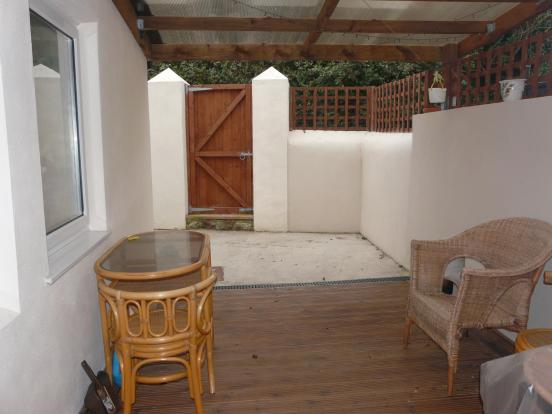 Rear Courtyard and D
