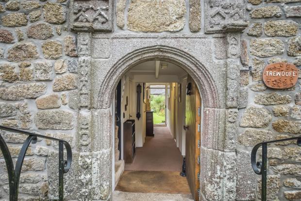 Historic entrance