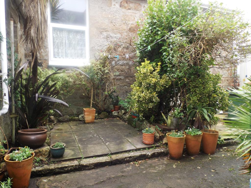 Paved Rear Courtyard