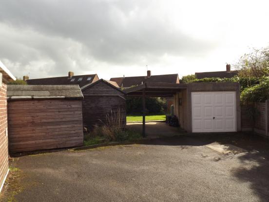 Garage, carport and