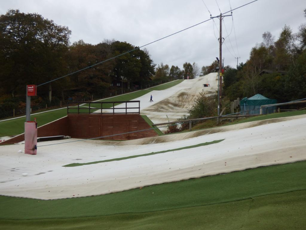 Nearby dry ski slope