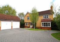 Detached home for sale in Ellis Close, Hoddesdon...